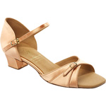 1005 - Girl's Buckle Vamp Sandal